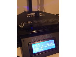 Anycubic mini - printing bed and easy leveler
