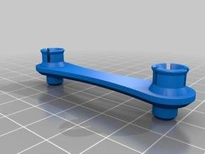 Elliptical Gear Arm with Pegs
