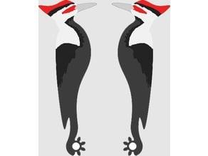 Complaint Button - Woodpecker Artwork