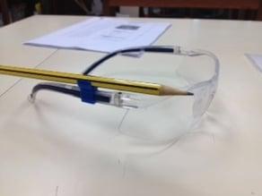 Safety Glasses Pencil Holder