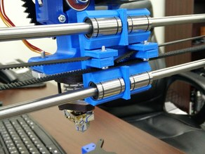Prusa Verticle Reinforced X-Carriage