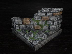 OpenForge Ruined Diagonal Tile