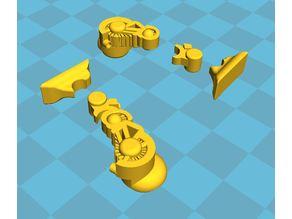 Modular Legs for Robot Chuck
