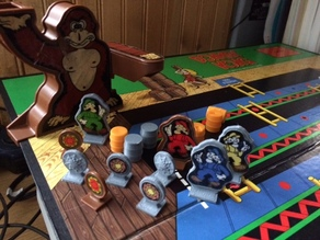 Donkey Kong Boardgame Replacement Parts
