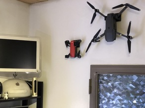 DJI Spark / Mavic Pro wall mount