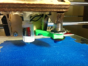 Printrbot Plus LC Auto-Level Probe Adjustable Mount Z-Axis End Stop