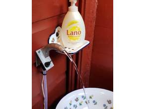 Wall mounted tap (faucet / valve) for electric pump