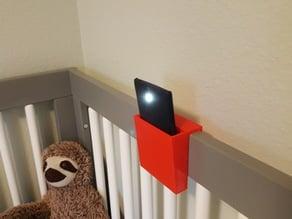 Crib Phone Holder for Bedtime Reading