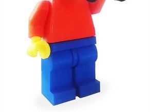 Lego Minifig(x4) worker accessories