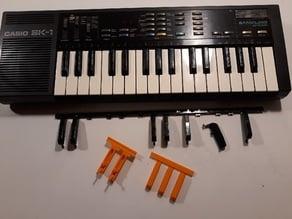 CASIO SK1 keys black