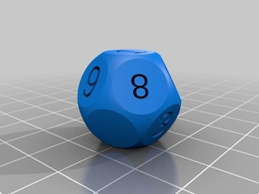 My Customized 12 dice