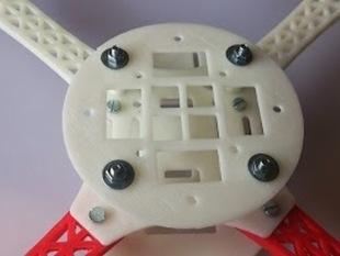 Center plate board for Quadcopter