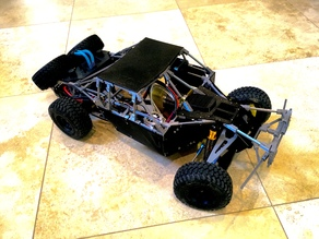 3D Printed 1/10 Remote Controlled (RC) Trophy Truck | Scale RC Suspension Madness!