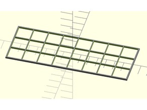 Imhotep Burial Chamber Grid, Configurable