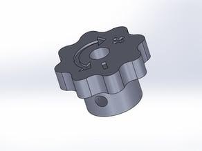 Rotator for Prusa i2 and Prusa i3 (+rework)