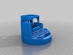 Round 3D printer tool holder V3