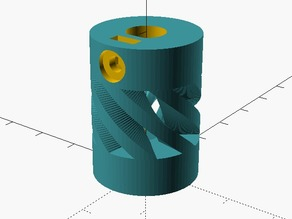 Customizable Flexible Coupling