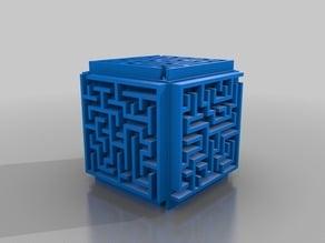Random Maze Cube Box 50mm