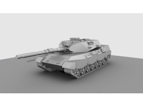 Leopard-1 a4 15mm scale