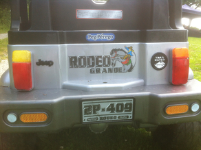 tail light replacement ,peg perego rodeo grande jeep