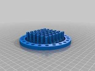 Parametric Round Knitting Loom