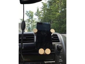 Gravity Car Phone Holder Mount Air Vent Outlet Stand Extender