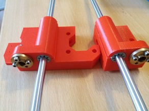 Anet A8 X-Carriage Mounts - Igus Version