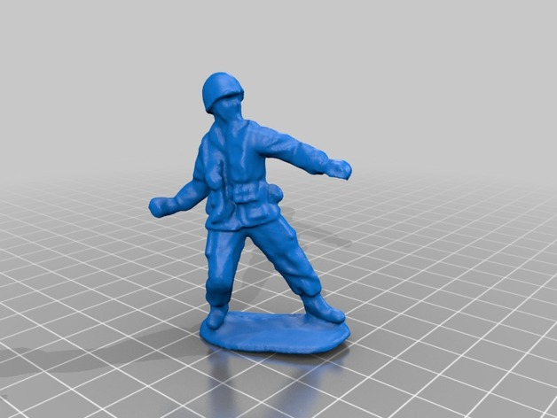 Grenadier Green Army Soldier By Sector67 Thingiverse