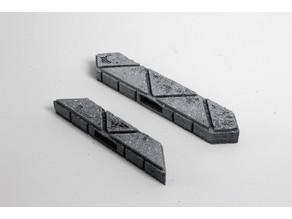 OpenForge Cut-Stone OpenLOCK Angled Flat Ends