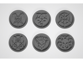 Necromunda Tokens - Clan Houses