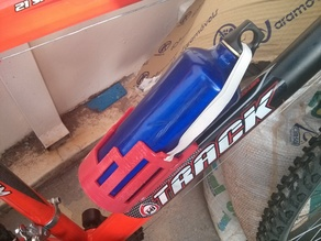 80mm diameter bottle support for bikes with handles