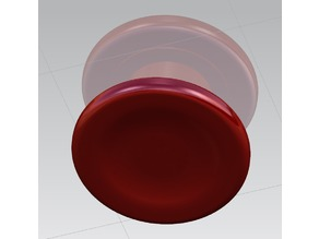 Ultimate Spinner Button Cap Low Profile Rounded
