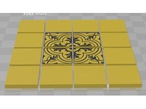 Art Deco Tile Set