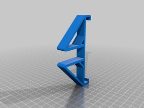2in1 - 8 inch tablet stand/ shelf_hanger