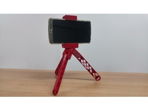 Rubber Band Smart Phone Holder & Tripod