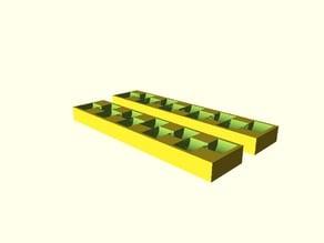 Parametric coin organizer