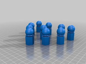 Sphero bowling pins