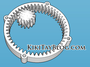 Inverted Herringbone Gears