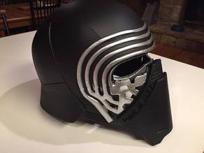 Kylo Ren Mask in 8 Parts