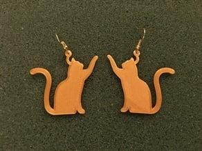 Cat Earring 2