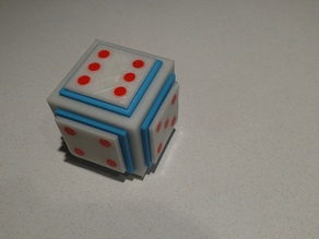 Chinese Torture Puzzle Dice Box