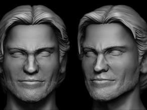 Jaime Lannister Head Sculpt