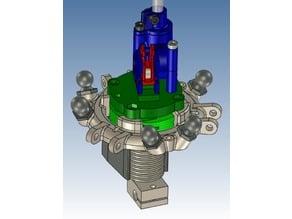 Peizoelectric sensor based effector for E3D V6