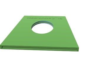 Cash holder for cardholder