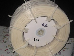 1.75mm filament spool from 2 CD