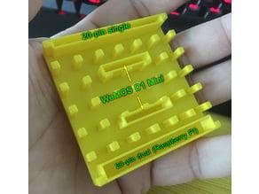 Multipurpose Soldering Jig for RPi/WeMos/etc.