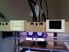 Replicator Filament Labels