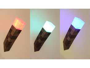 Minecraft Torch Nightlight