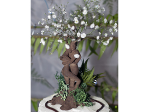 Celtic Entwined Lovers Cake Topper