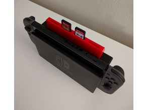 Nintendo Switch Cartridge Holder for Dock / Stand - 4 slot
